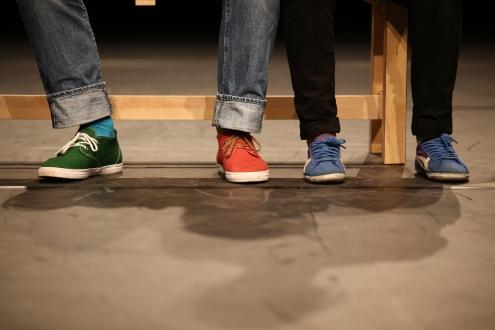 """Unsere Füße - """"Stellen Sie sich vor, wir wären in Bern."""""""